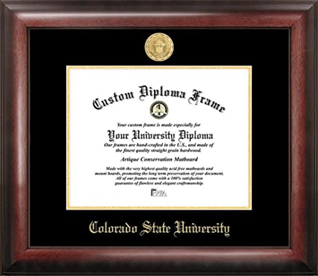 Amazon Colorado State Rams Home Office Diploma Picture Frame