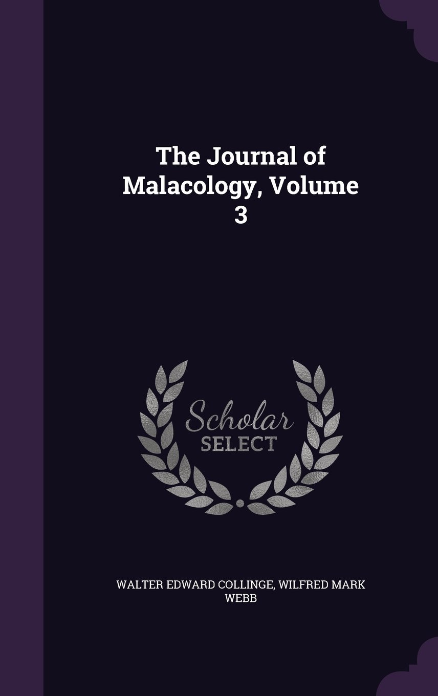 Download The Journal of Malacology, Volume 3 PDF