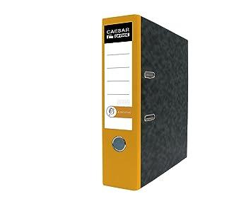 Ejecutiva Profesional de papel (A4 polipropileno archivadores de cartón - amarillo (Pack de 20): Amazon.es: Oficina y papelería