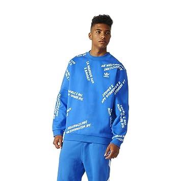 adidas Nyc Gfti Crew blue: : Sport & Freizeit