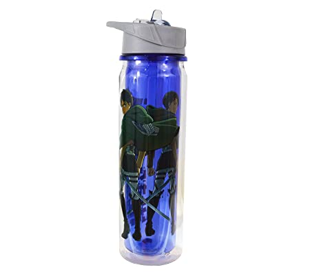 Attack on Titan Water Bottle: Amazon.es: Hogar