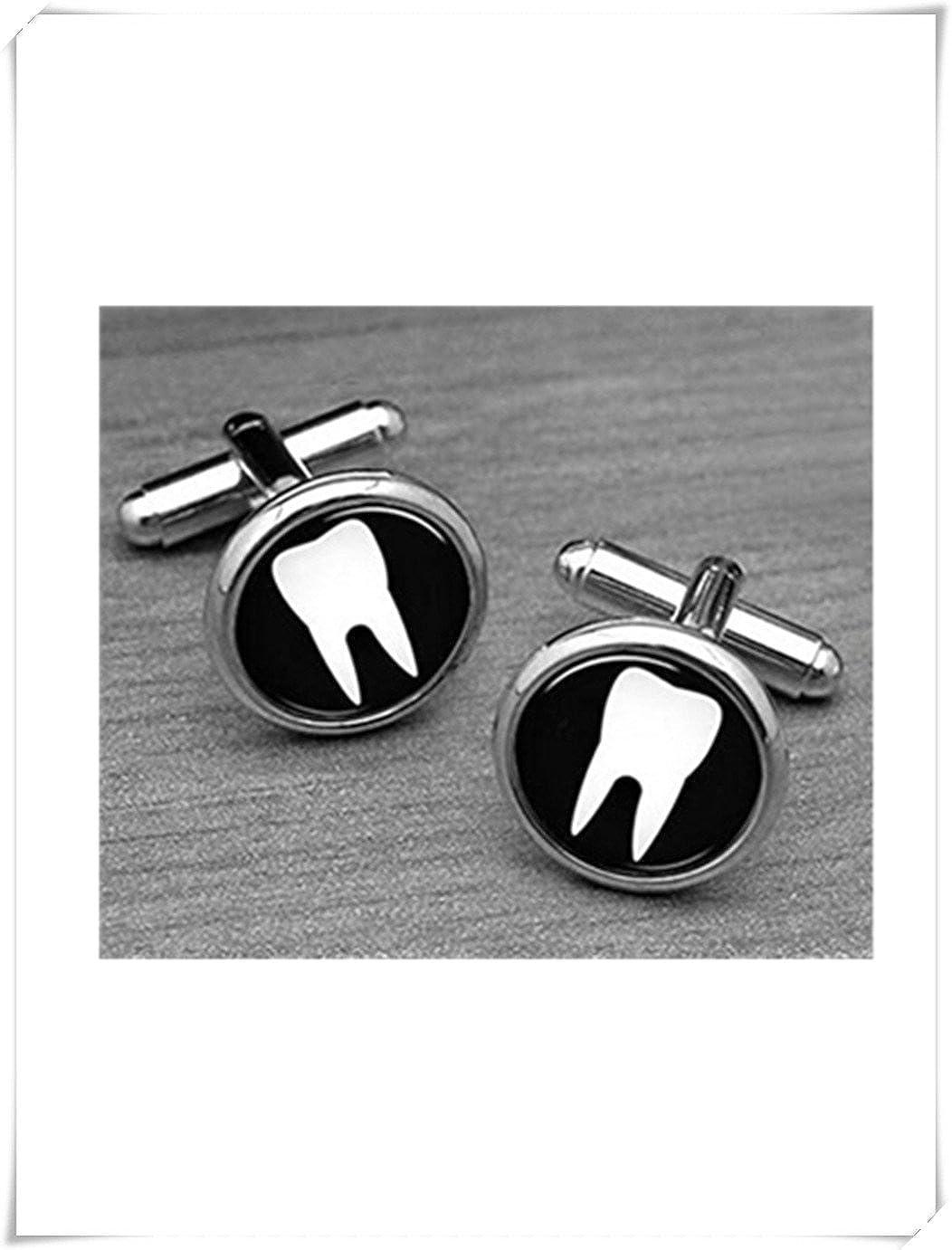 Boutons de manchette dent, dentiste Boutons de manchette, médecin dentiste Cuffl encres Forever family ce67