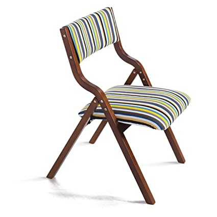 Chair QL sillones Plegables Silla Plegable de Madera Simple ...