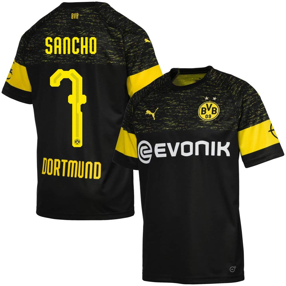 Puma Borussia Dortmund Away Trikot 2018 2019 + Sancho 7