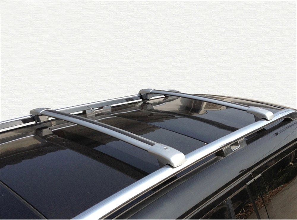 Silver Fit Lexus RX RX270 RX350 RX450 2009-2015 Cross Bar Roof Racks Baggage Luggage Racks