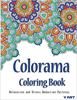 Amazonin Buy Colorama Coloring Book Relaxation Stress Relieving Patterns Volume 2 Adult Online At Low Prices In India