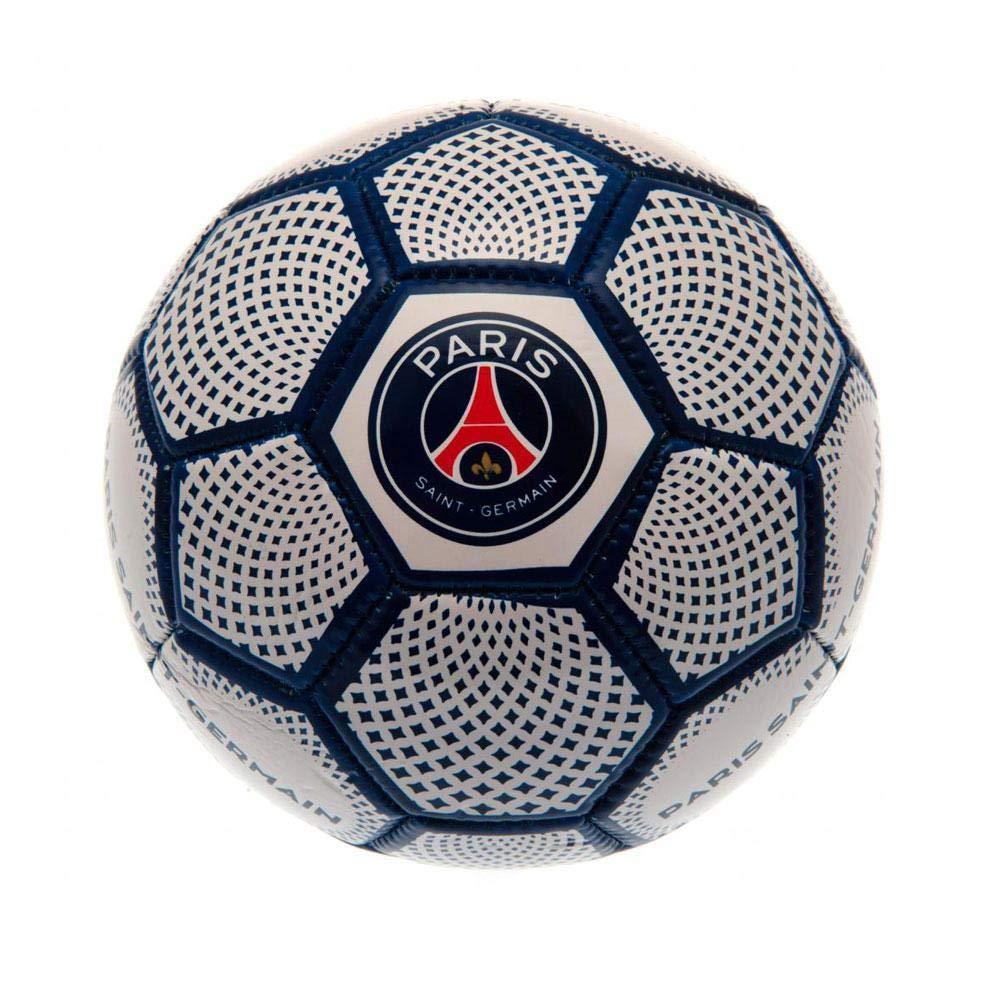 Paris Saint Germain FC - Balón mini (1) (Blanco): Amazon.es: Ropa ...