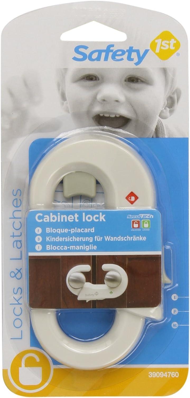 Cierre de seguridad para armarios Safety 1st 39094760 color blanco