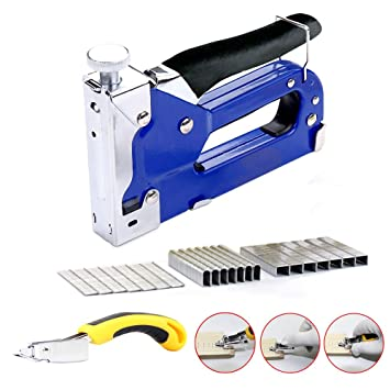Upholstery Staple Gun 3 In 1 Heavy Duty With Remover Tool 900