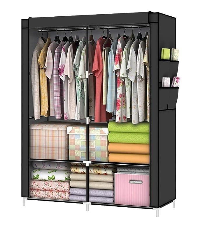 Amazon.com: YOUUD armario portátil organizador de armario ...