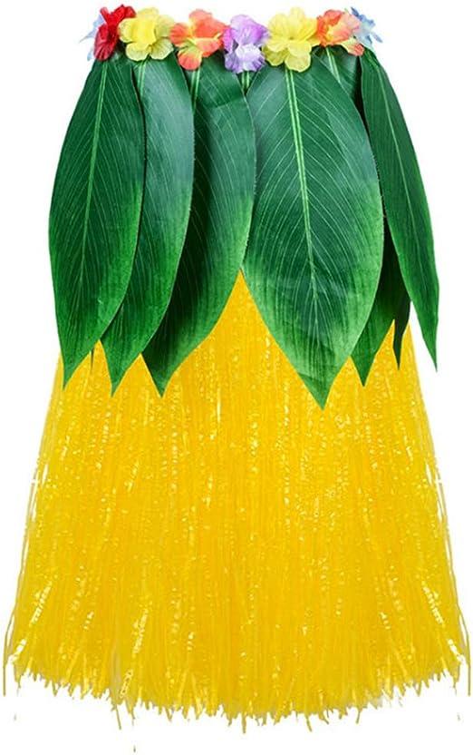 Funpa Hoja Falda Artificial Las Flores Hojas Hawaiano Partido ...