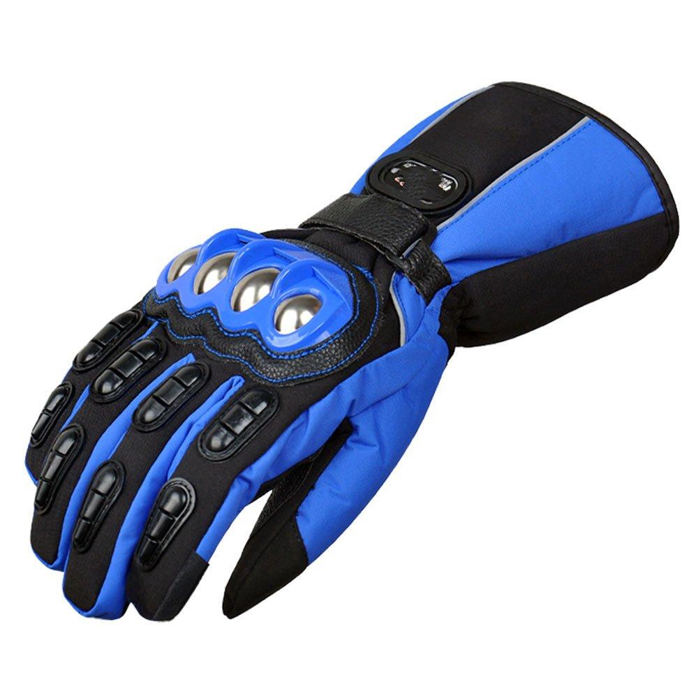 LDFN Schutzhandschuhe Touchscreen Wasserdicht Warm Für Laufen Fahren Skifahren Skating Klettern Training,B-M