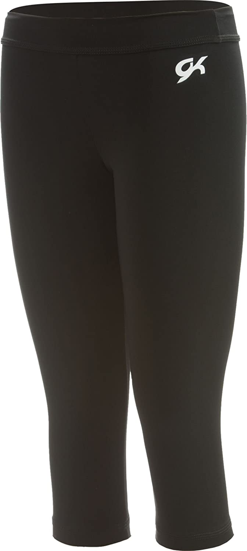 GK Elite Youth DryTech Capri Pants XS, Black