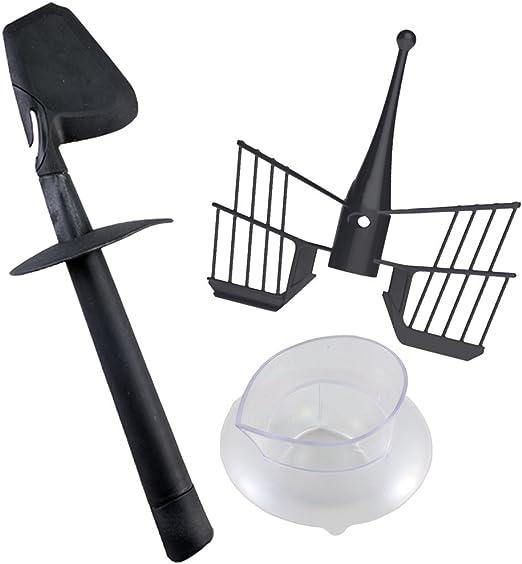 Kit completo de accesorios compatibles para robot de cocina Bimby TM5: espátula + mariposa + vaso: Amazon.es: Hogar