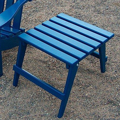 Prairie Leisure Junior Adirondack Side Table - Blue Adirondack End Table