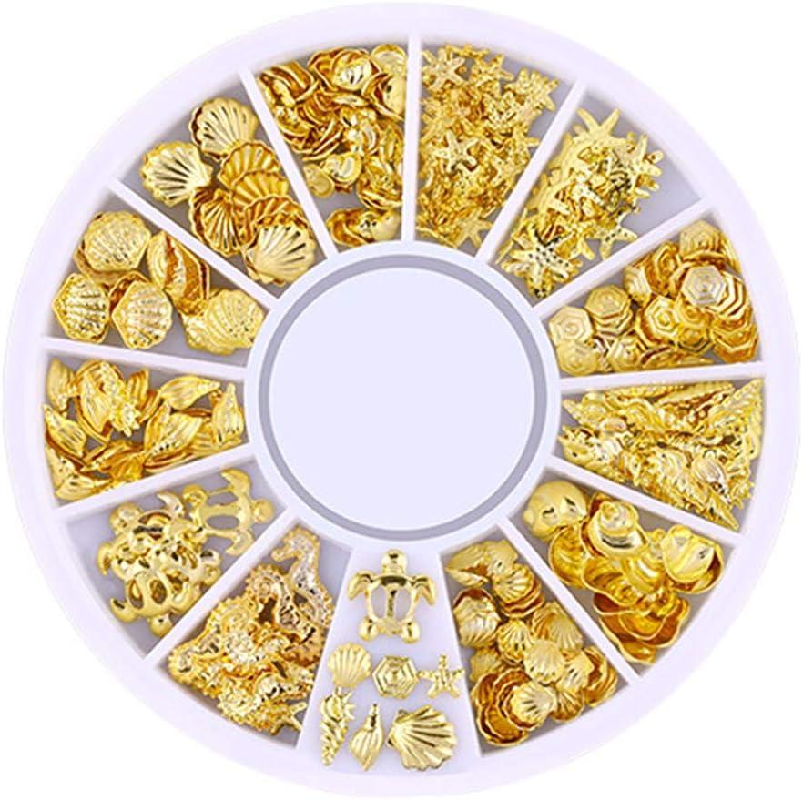 Inconpro Decoracion Clavo para Arte 1 Caja Herramientas de uñas Pedrería para Uñas Decoración de Uñas Diamantes de Imitación de Arte de Uñas Kit