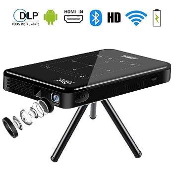 Proyector Portatil Full HD,SFZAV Mini Videoproyector Cine en ...