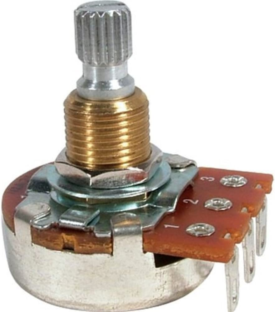 Bourns Guitar & Amp Potentiometer, 500K Audio, Knurled Split Shaft