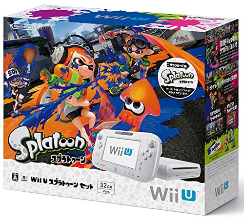 Wii U スプラトゥーン セットの商品画像