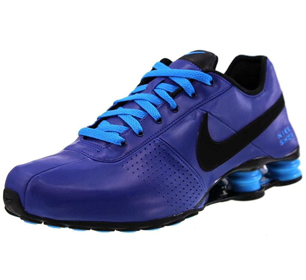 60103404bd0b3 ... reduced amazon nike shox deliver royal blue black glow 317547 404 mens  running sneakers trainers size