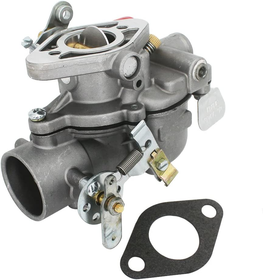 KIPA Carburetor for Case IH Farmall Cub Tractor 154 184 185 70949C92 71523C93 70949C91 Lo-Boy Replace carb Mfg number 13781 13794 with Mounting Gasket