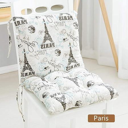 Cojín de asiento Cojines de silla Cojín de silla de jardín Cojín ...