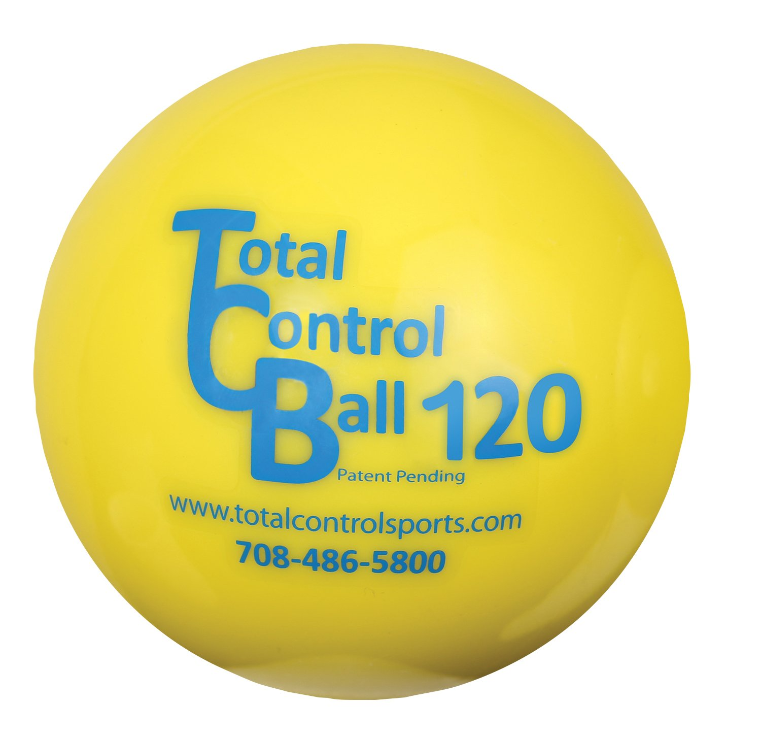 Total Control Sports Strength Builder Atomic Ball (Pack of 6), Yellow