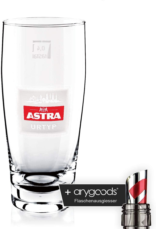 Gläser 0,3l Willybecher Bierglas Gastro Bar Deko NEU Astra Bier Glas