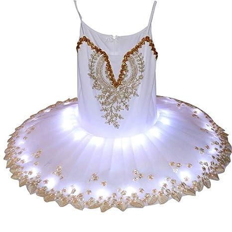 Xiao Jian- Falda de Ballet para niños Trajes de Baile para ...