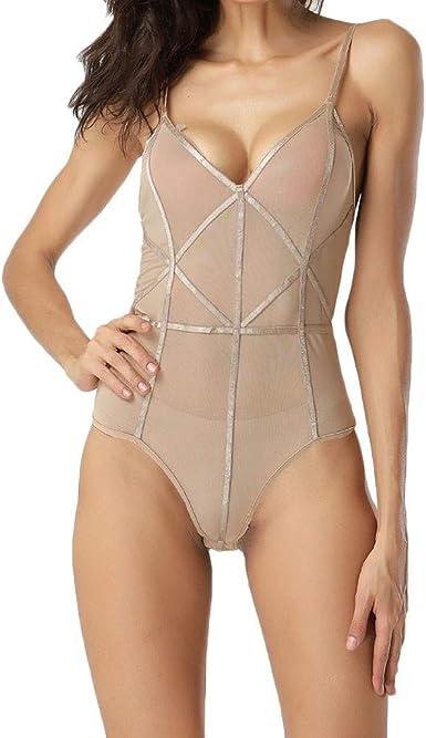 KIMODO Moda para Mujer Ropa Interior Sexy Perspectiva Ropa de ...