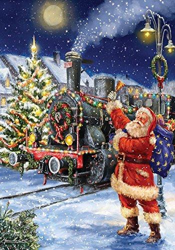 Briarwood Lane Polar Express Christmas House Flag Santa Claus Train 28