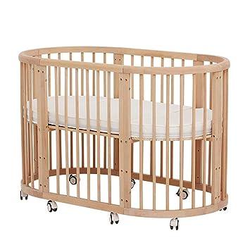 KLI 5 En 1 Multifunción Cuna para Bebés Recién Nacidos Sólido Inofensivo Pintura Cuna para Bebé Cama Mecedora, 125 * 73 * 76 Cm: Amazon.es: Deportes y aire ...