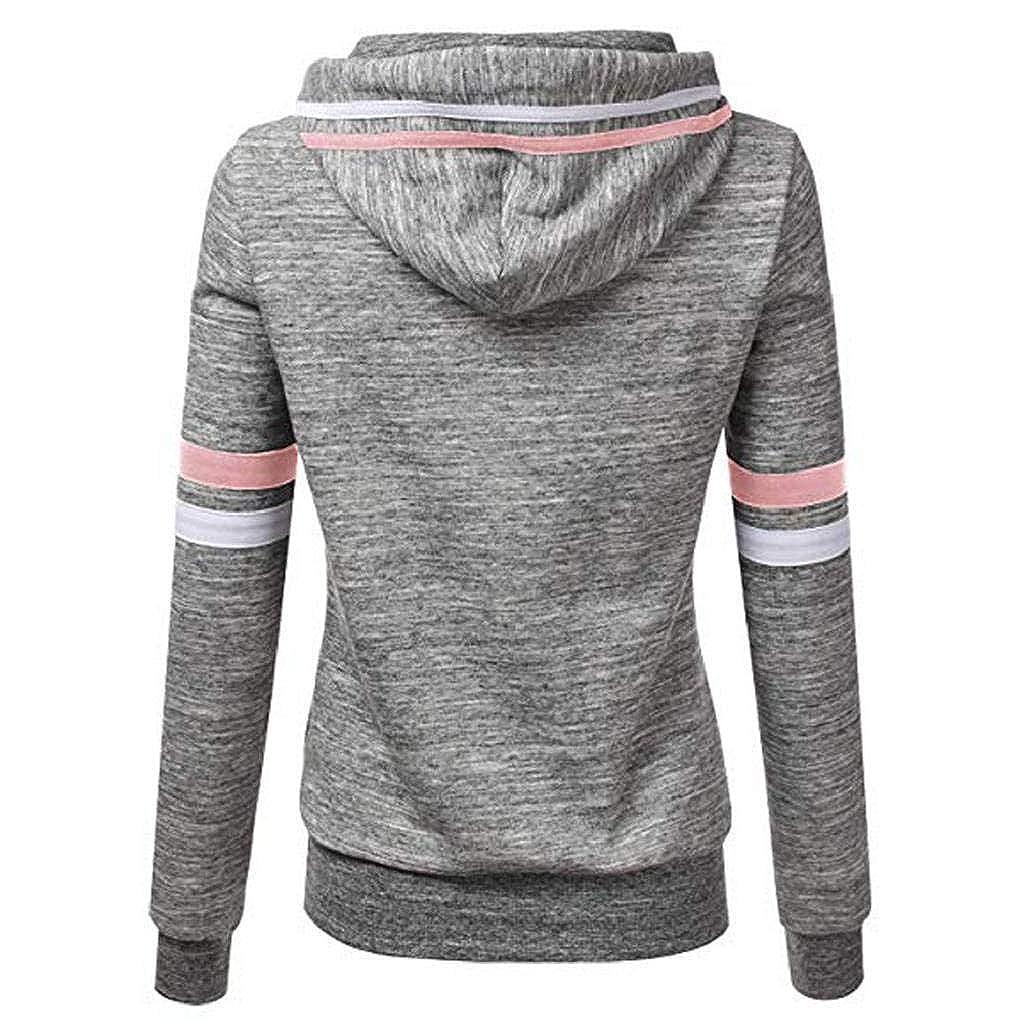 Damen DIE MÄDCHEN CLUB Sweatshirt Drucken Langärmelig Fleece Pullover Oberteil