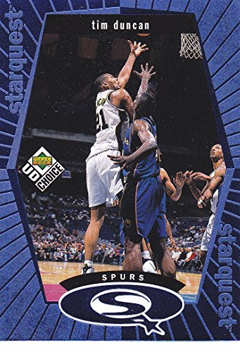 1998-99 UD COLLECTORS CHOICE TIM DUNCAN INSERT