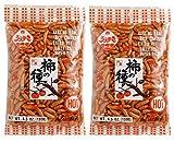 Japanese Traditional Rice Crackers : Nori Maki Arare/ Kaki No Tane 2packs (Kaki No Tane Hot)