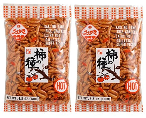 - Japanese Traditional Rice Crackers : Nori Maki Arare/ Kaki No Tane 2packs (Kaki No Tane Hot)