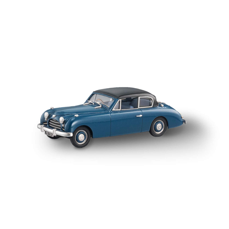 Brooklin Models - 1950 Jensen Interceptor 2 Door Saloon - LDM115 - blu Metallic nero (1 43 Scala)