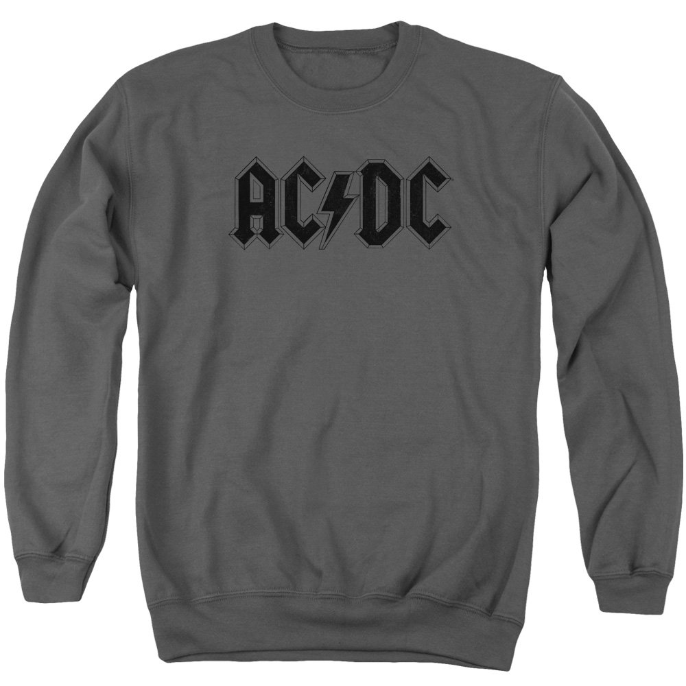 AC DC Men& 039;s Worn Logo Sweater