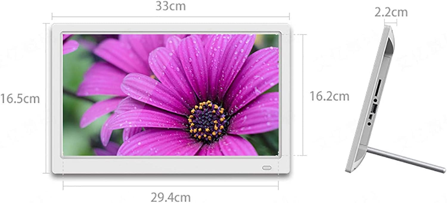 BYBYC 13 Inch Smart WiFi Digital Photo Frame with Touch Screen High List Machine Edition 1920x1080 IPS LCD Panel Support Pictures Music Video