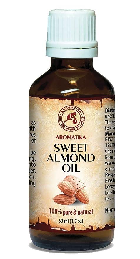 Aceite de Almendras Prensado en Frío 50ml - Italia - Almendra Aceite 100% Puro y