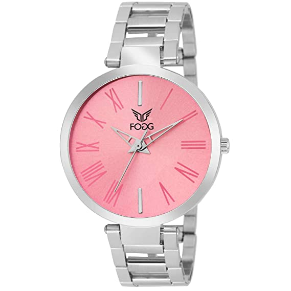 302e646ab708 Buy Fogg Analog Pink Dial Women s Watch 4049-PK Online at Low Prices in  India - Amazon.in