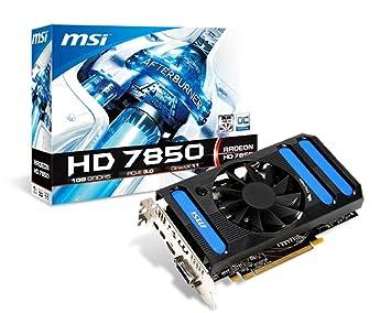 MSI R7850-1GD5/OC AMD Radeon HD7850 1GB - Tarjeta gráfica ...