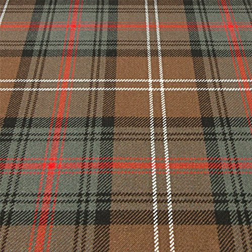 Heavy Weight 16oz Fabric Material Sutherland Old Weathered Tartan 1 Metre ()