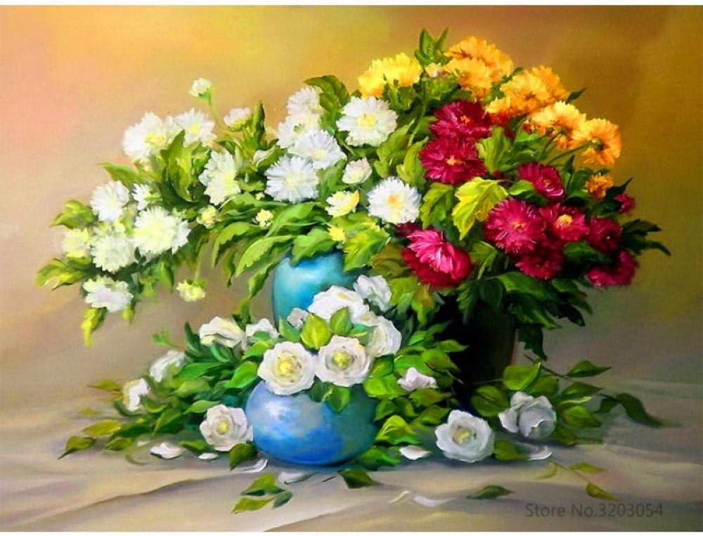 Cuisine Maison Peintures Xuhpiar Bricolage Peinture Numerique Scene De Neige Peinture Par Numeros Pour Adultes Peinture Acrylique Facile A Faire Soi Meme Par Numeros 40x50cm