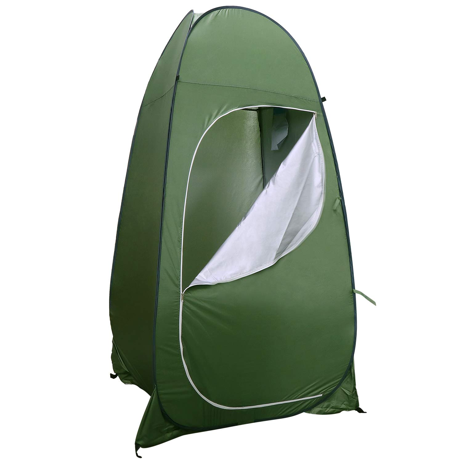 KEESIN Pop Up Camping Toilet Tent,Shower Privacy Room Tent for Outdoor Changing Dressing Bathing