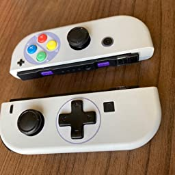 Amazon Com Customer Reviews Extremerate Classics Snes Style Soft Touch Joycon Handheld Controller Housing D Pad Version With Full Set Buttons Diy Replacement Shell Case For Nintendo Switch Joy Con Console Shell Not Included