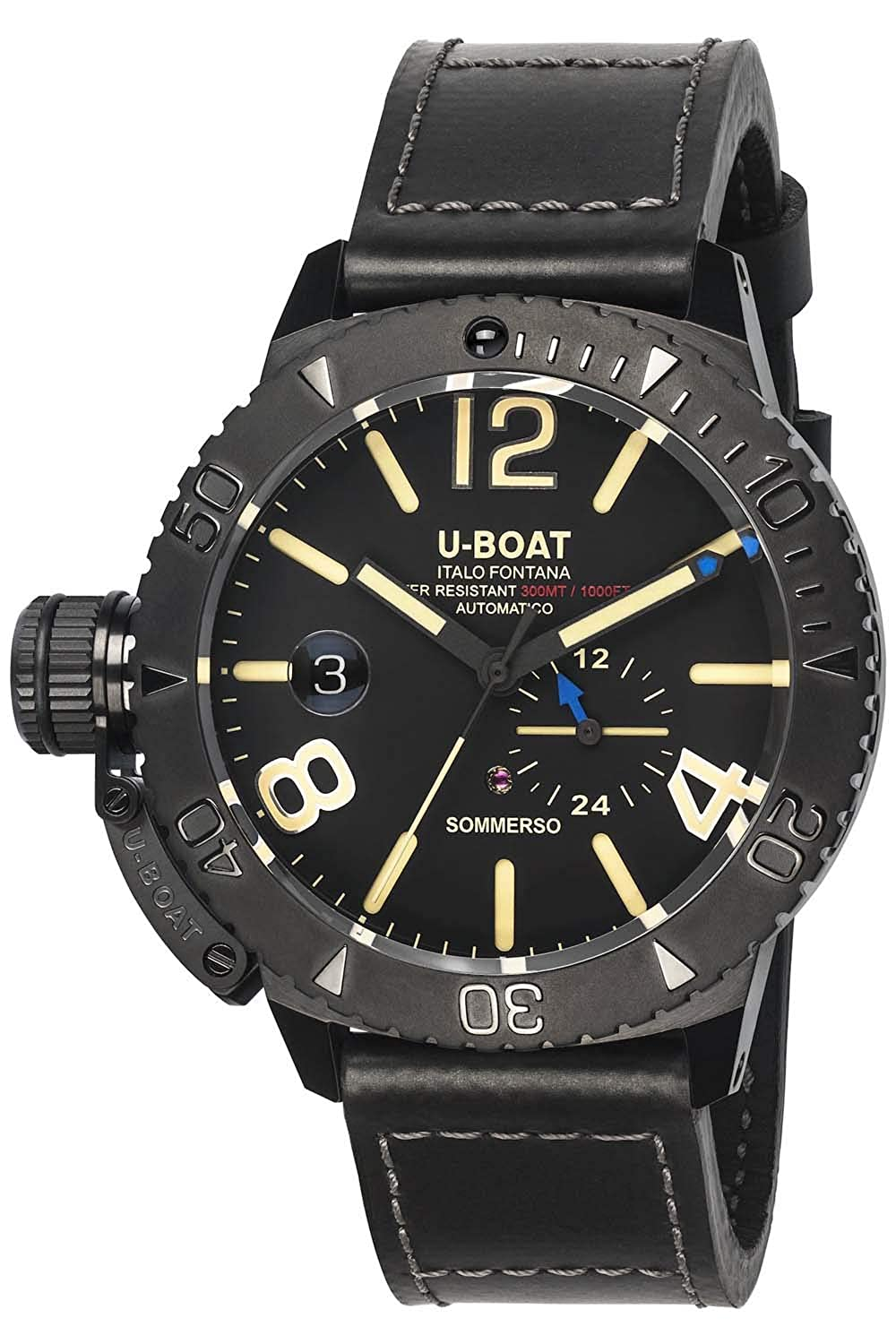 u boat sommerso  : U-boat sommerso 9015 Mens Automatic-self-Wind Watch: Watches