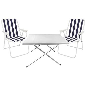 Camping de 3 piezas. camping Muebles de camping mesa ...