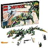 Lego Green Ninja Mech Dragon Building Sets