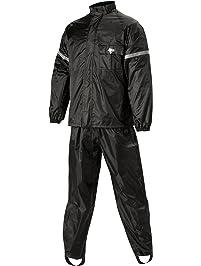 Nelson Rigg WeatherPro Rainsuit (Black, Large), 2 Piece